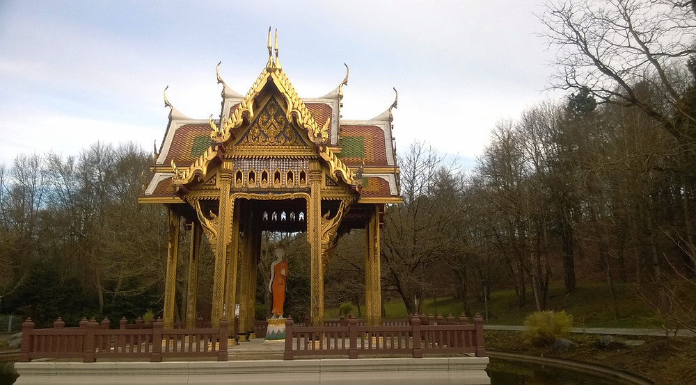 Тайский храм в Westpark