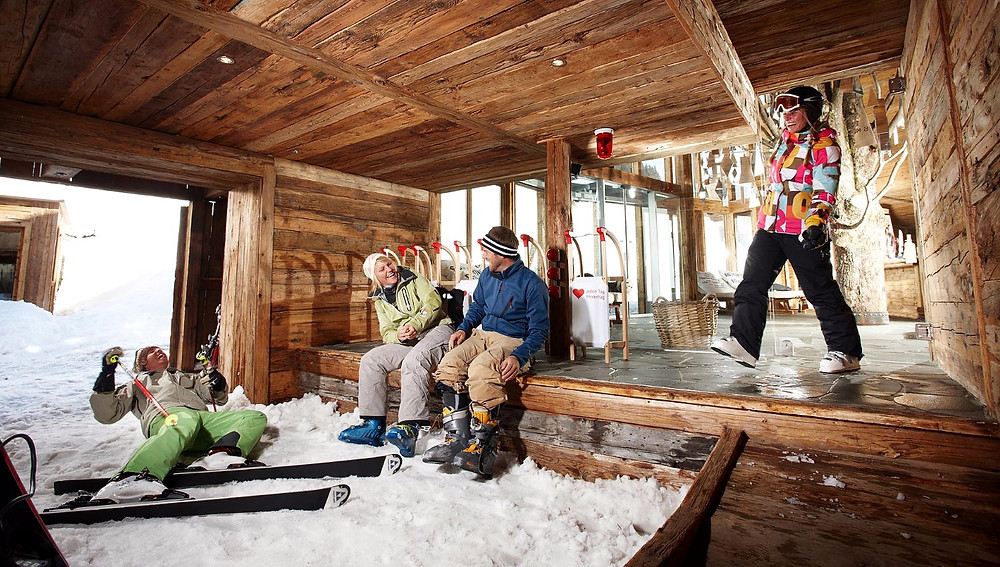 Отель ski in/ski out