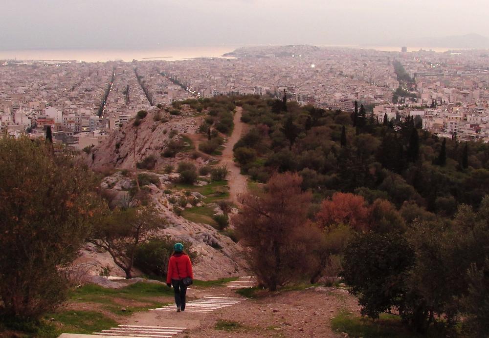 На холме Филопаппу