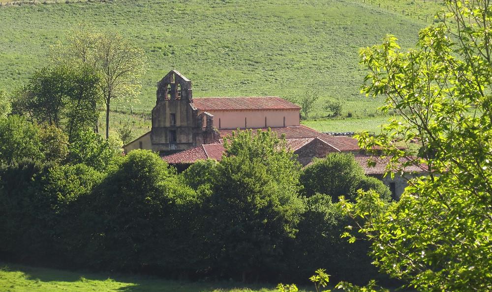 Монастырь в Обона