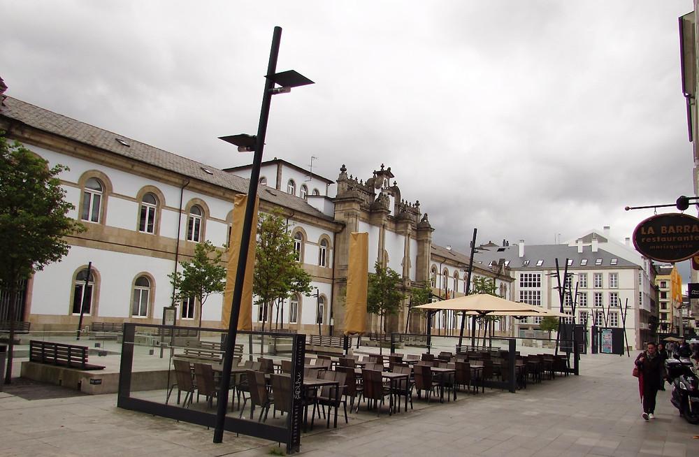 Площадь в Луго