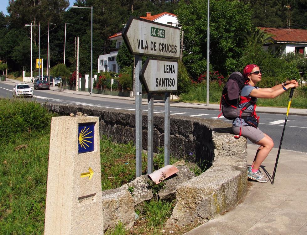 Camino Primitivo, день 9: Melide – O Pedrouzo