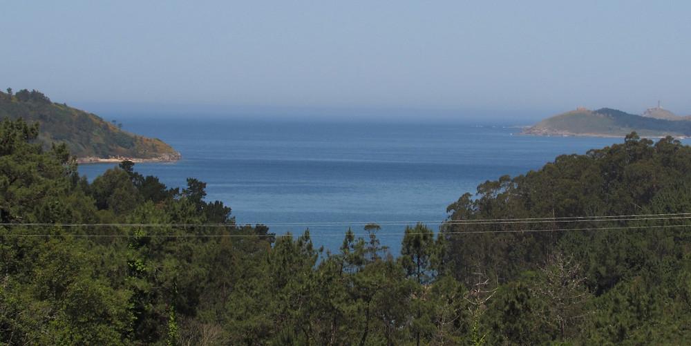 Первый раз видно океан
