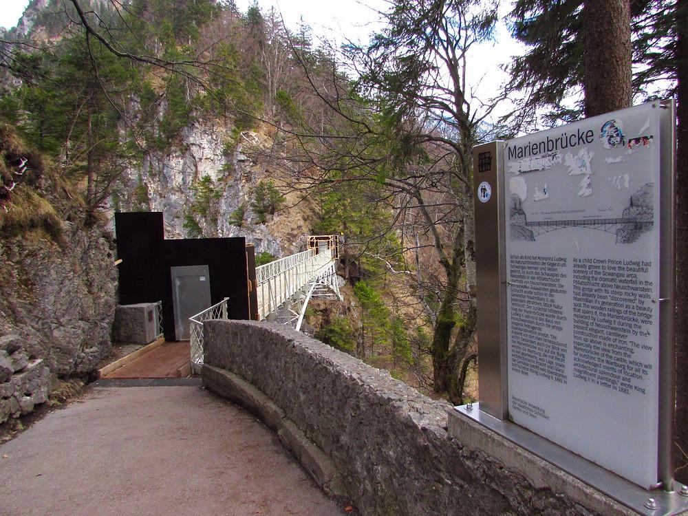 Мост Марии над ущельем Пеллат - закрыт на реконструкцию