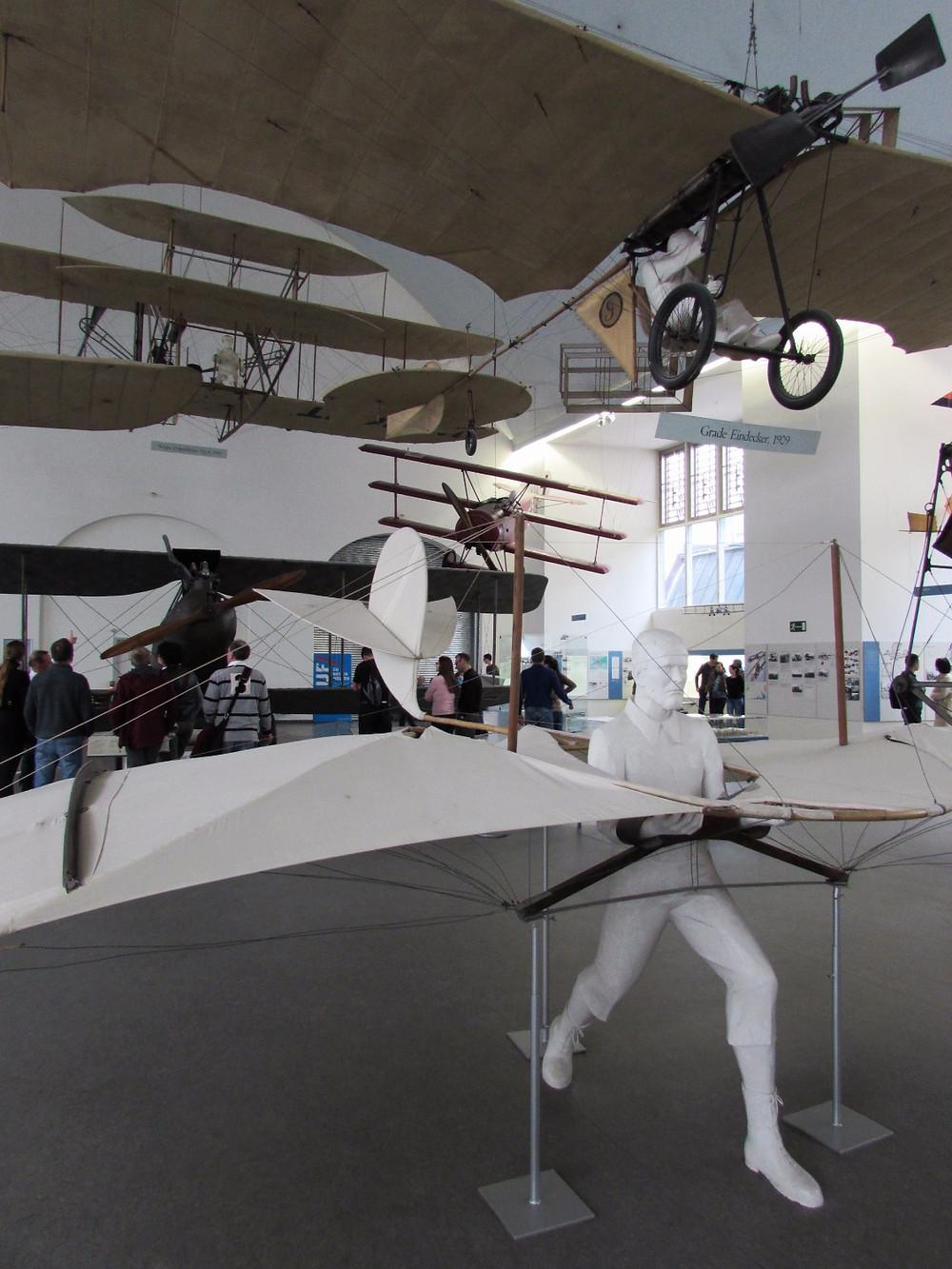Немецкий музей-зал авиации
