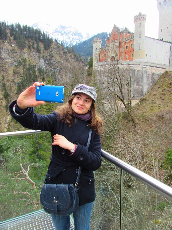 Neuschwanstein-selfie