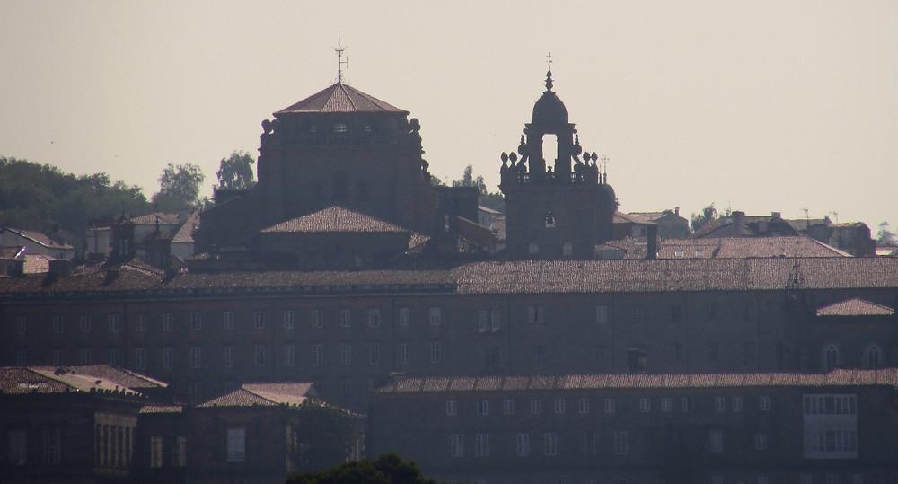 Вид на Сантьяго дле Компостела