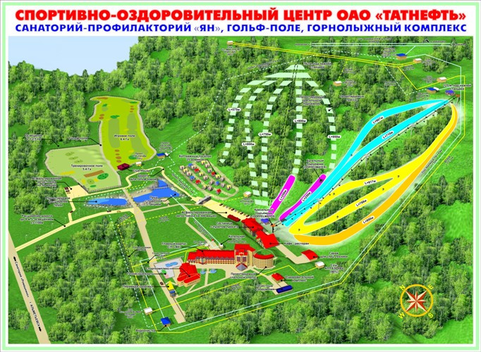"""Горнолыжный комплекс """"Ян"""""""