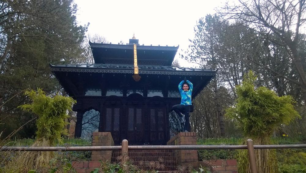 Непальский храм в Westpark