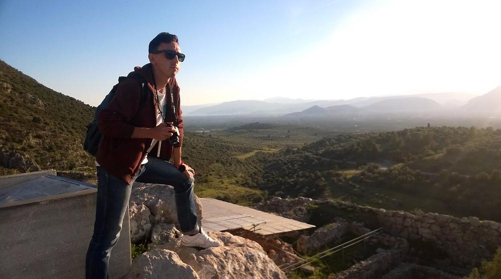 На вершине микенского холма