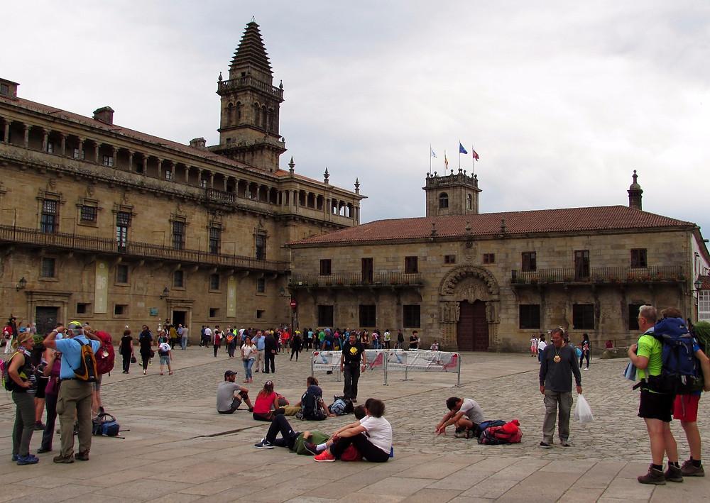 На площади Обрадойро