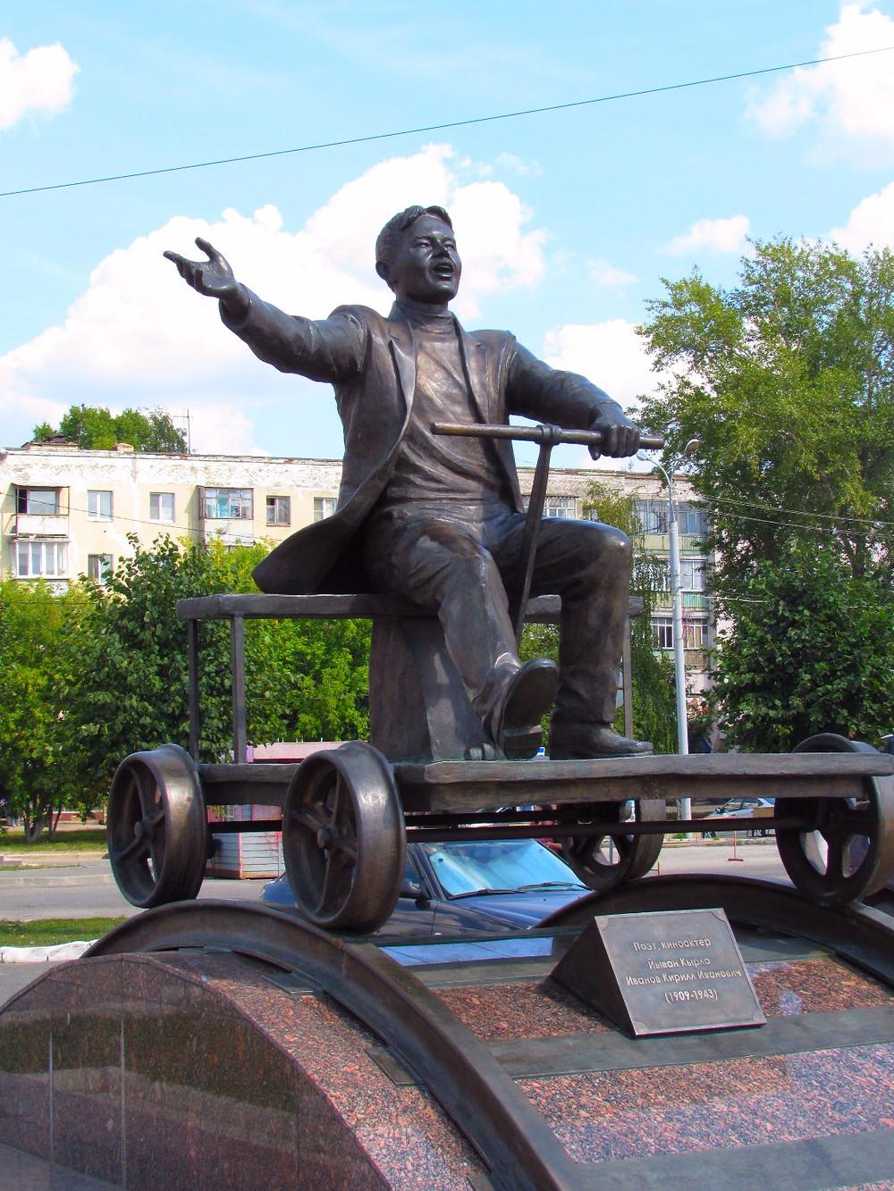 "Марийский актер и поэт Йыван Кырля, он же ""Мальчик на дрезине"""