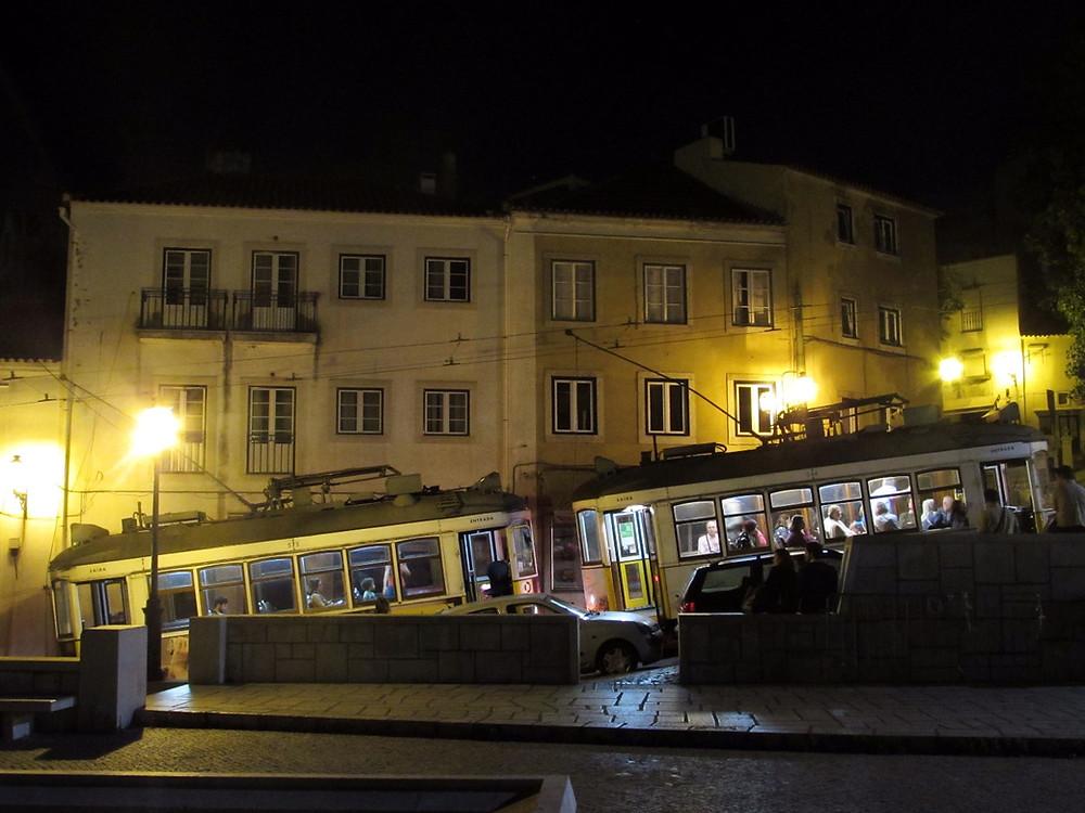 Трамваи остановились