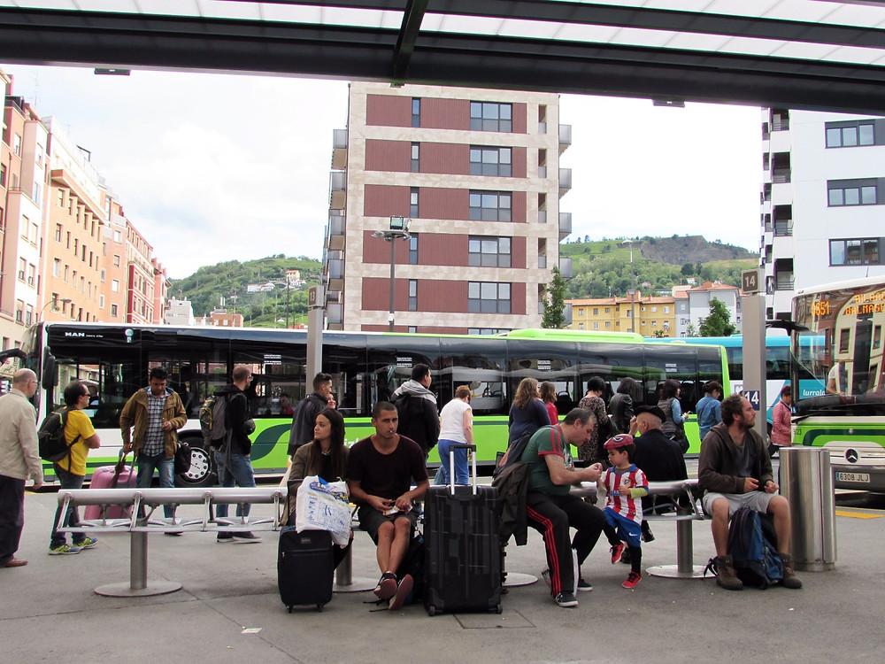 Автовокзал в Бильбао