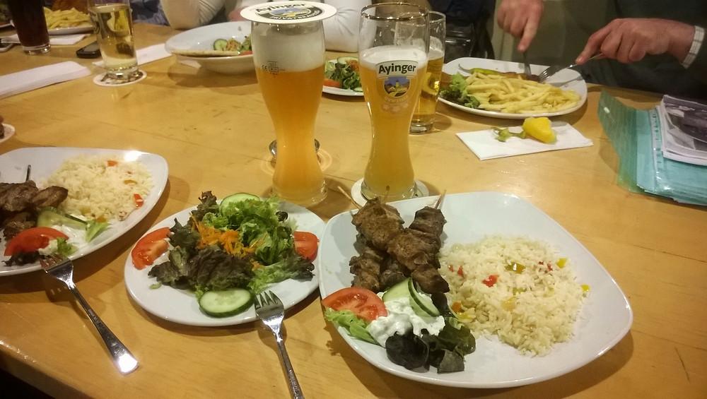 Греческая кухня - сувлаки