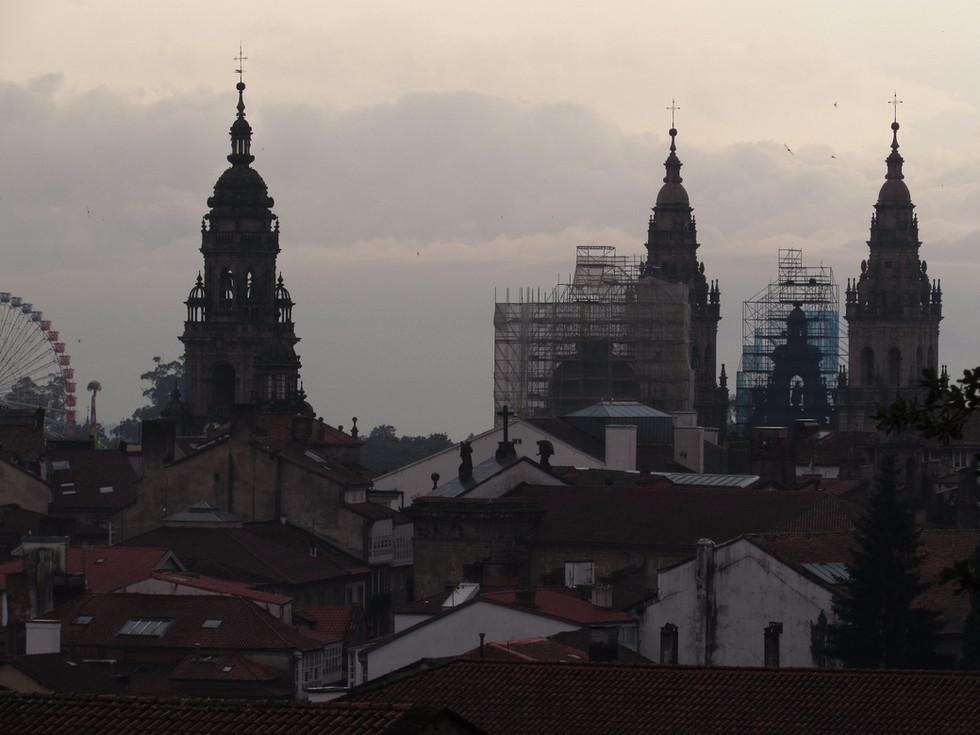 Camino Primitivo, день 15: Fisterra – Santiago de Compostela - Bilbao