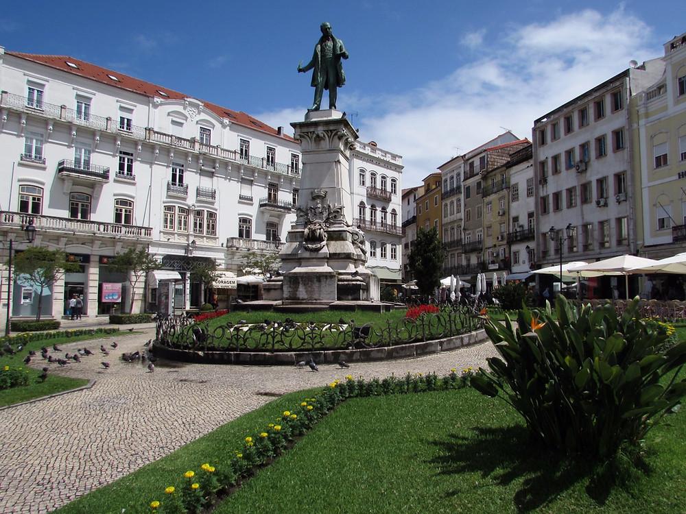 Площадь в Коимбре