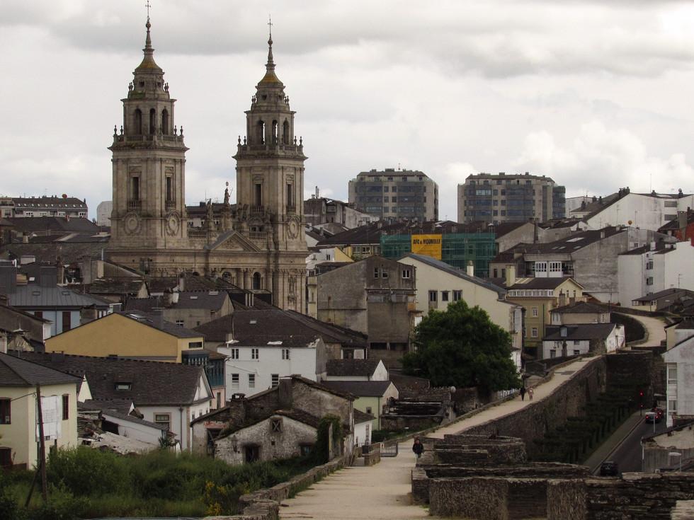 Camino Primitivo, день 7: Castroverde - Lugo