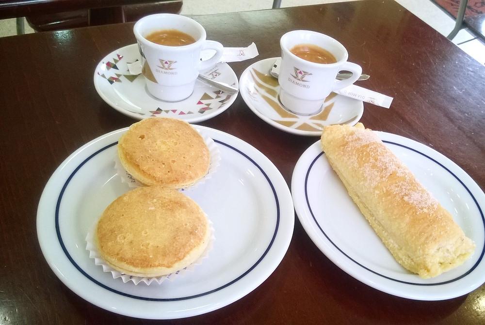 Пирожные в Синтре
