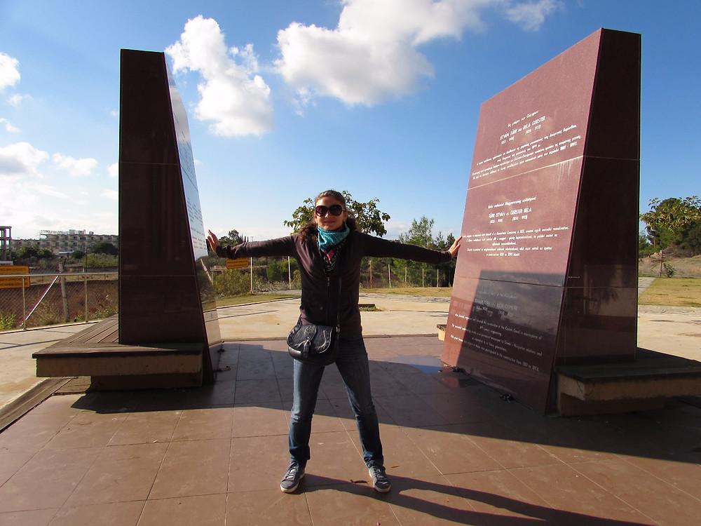 Памятник строителям Коринфского канала