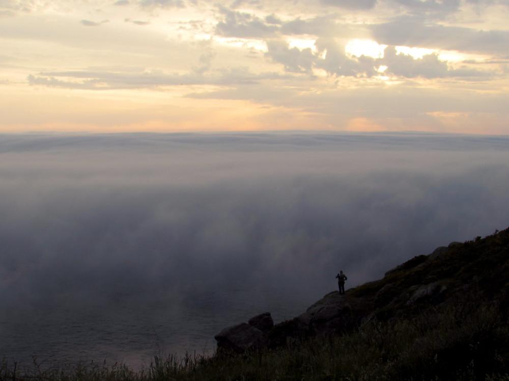 Туман на океане