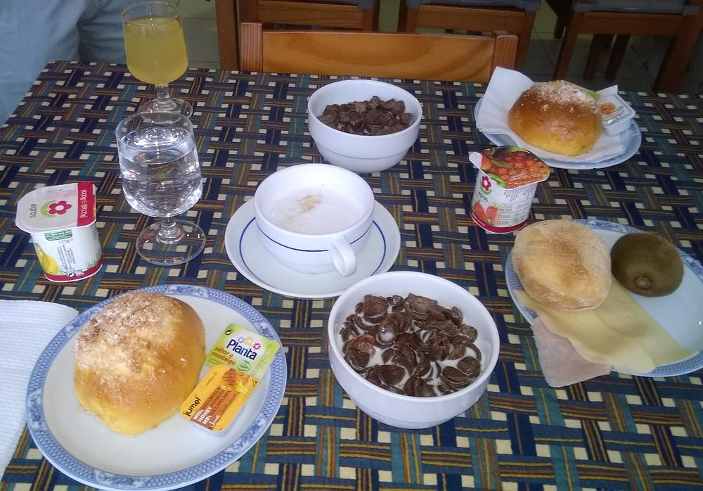 Завтрак в Ribeiro Hotel
