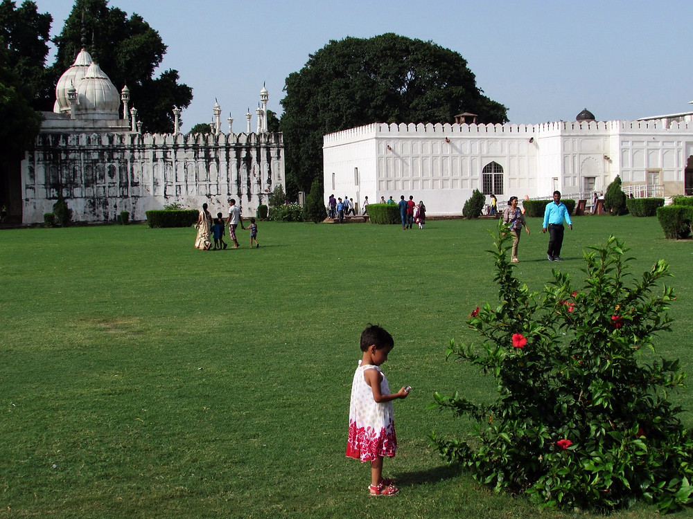 Красный форт Дели - Жемчужная мечеть