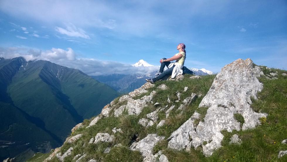Восхождение на гору Столовая, 3003 метра (Ингушетия, 2015)