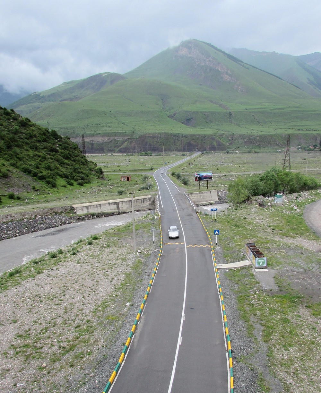 Дорога на Армхи