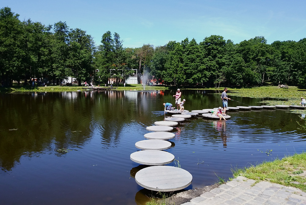 Парк в Зеленоградске