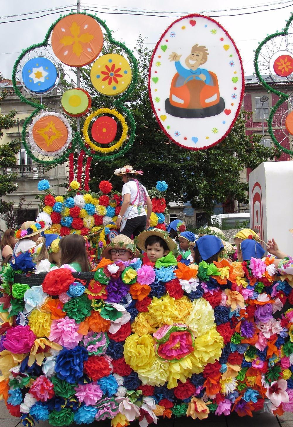 Дети на Sao Joao