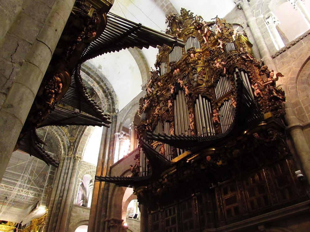 Орган в Соборе Сантьяго де Компостела