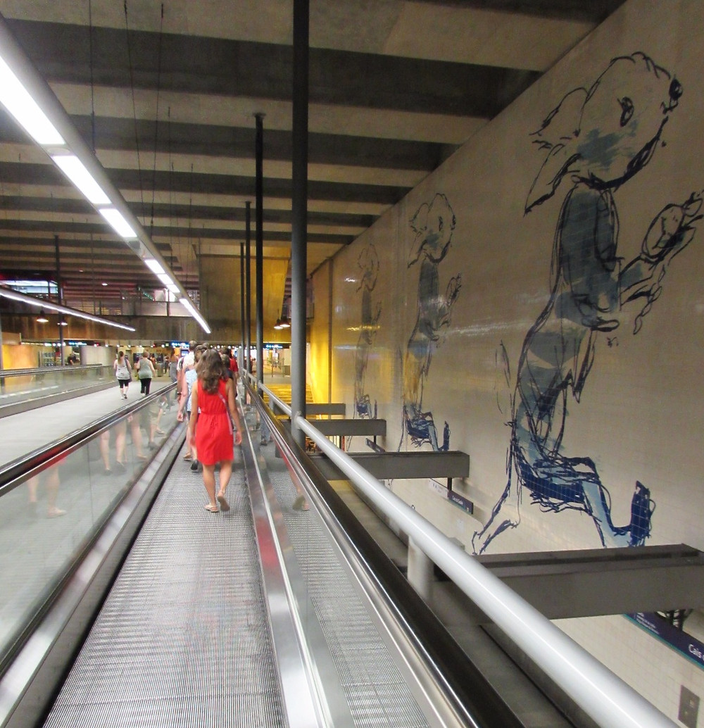 Метро в Лиссабоне
