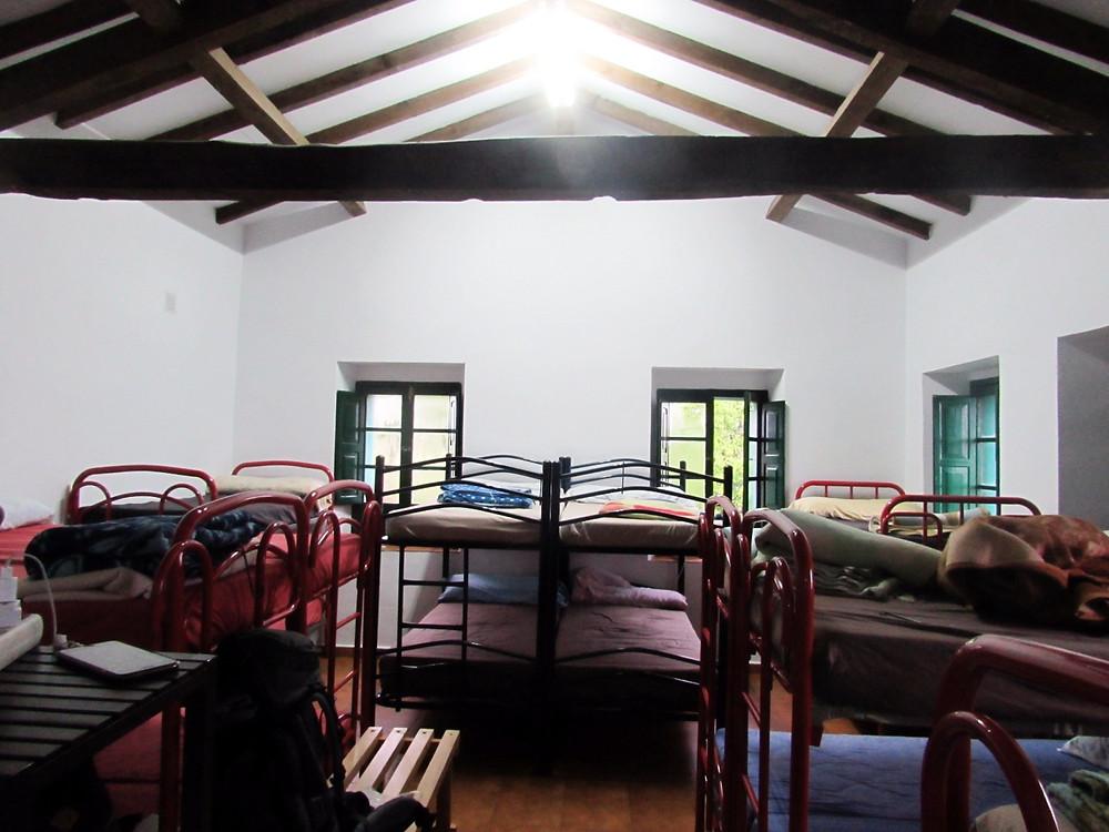 Спальня в альберге