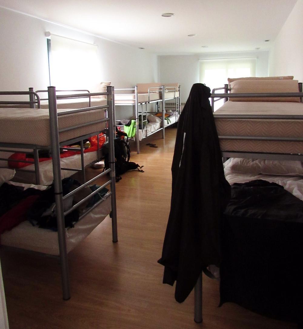 Спальня в альберге в Кастроверде