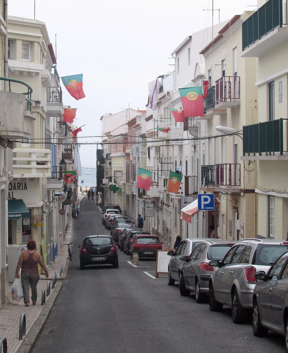 Улица с флагами