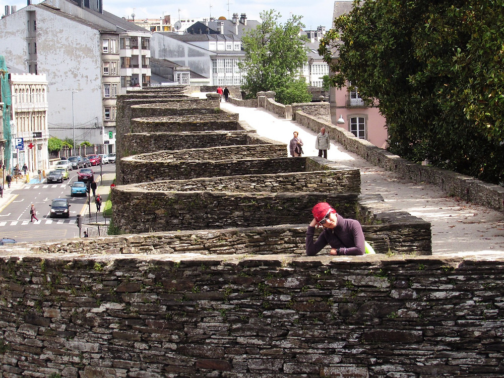 Крепостная стена в Луго