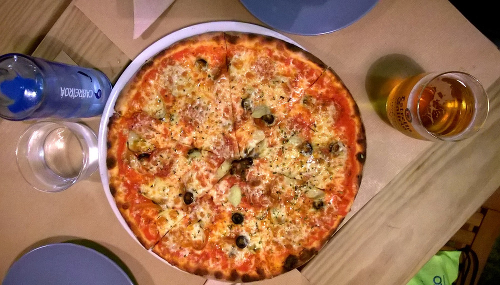 Ночная пицца