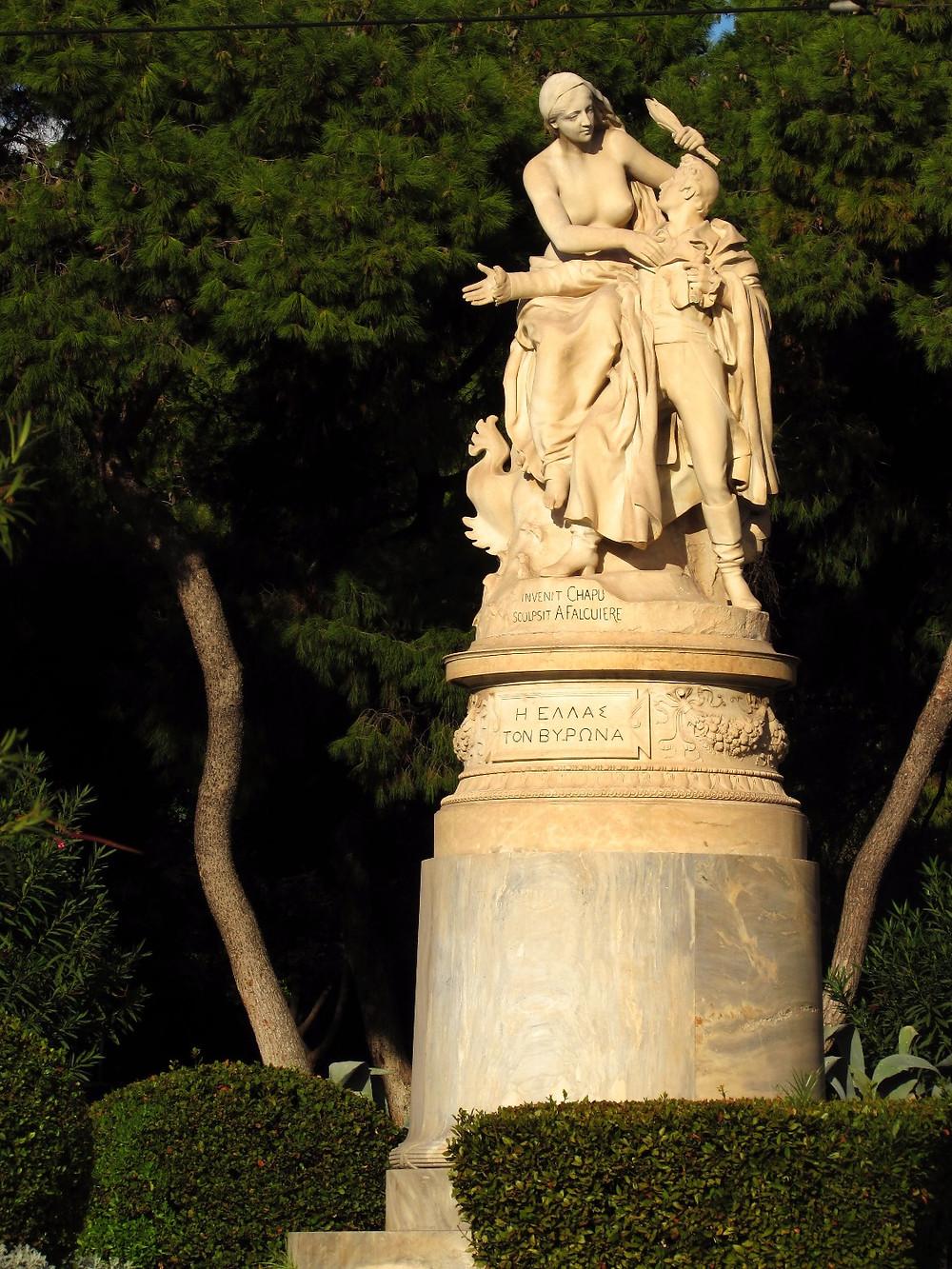 Памятник Лорду Байрону