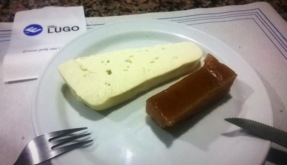Сыр и десерт