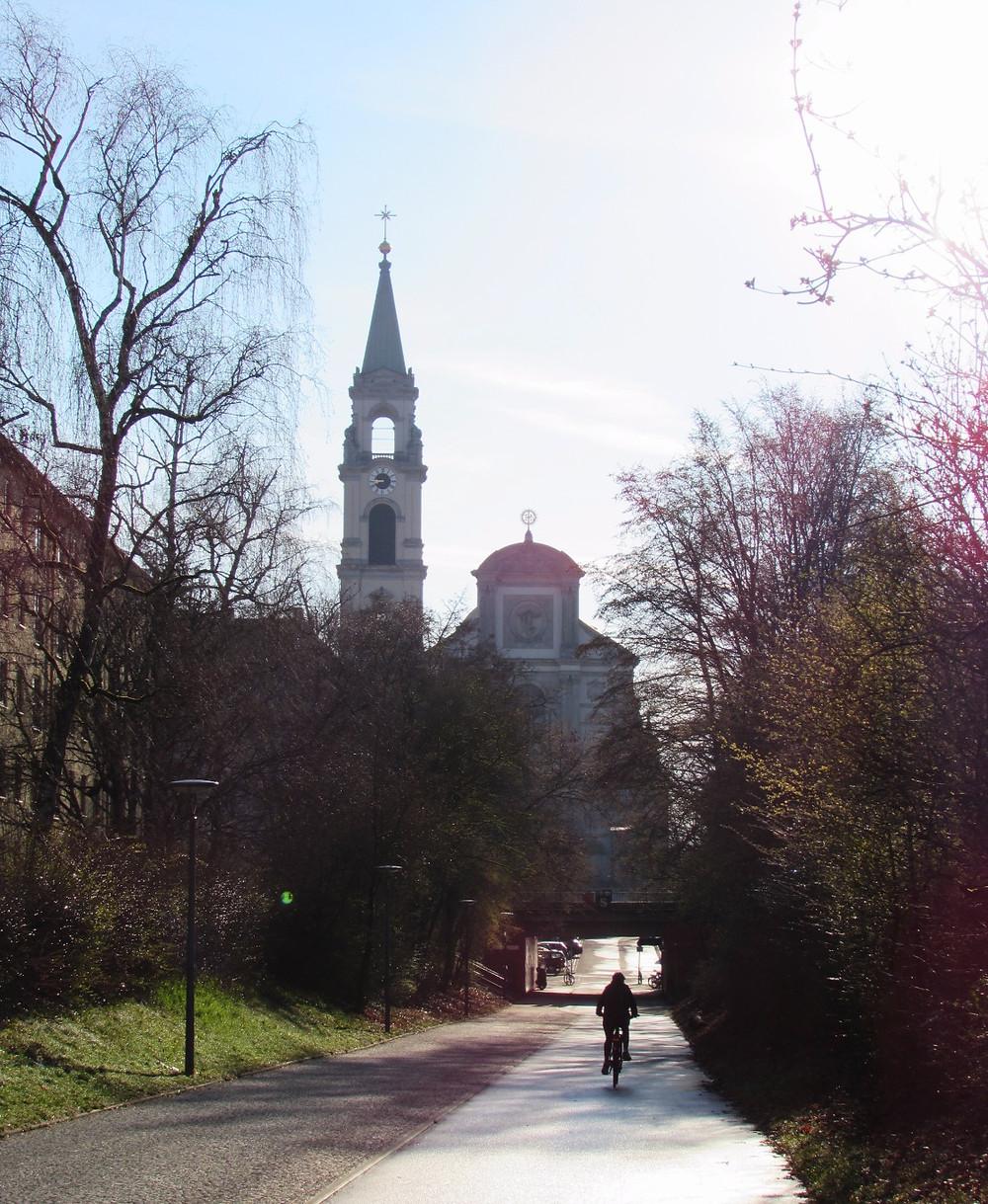 Утро в Мюнхене