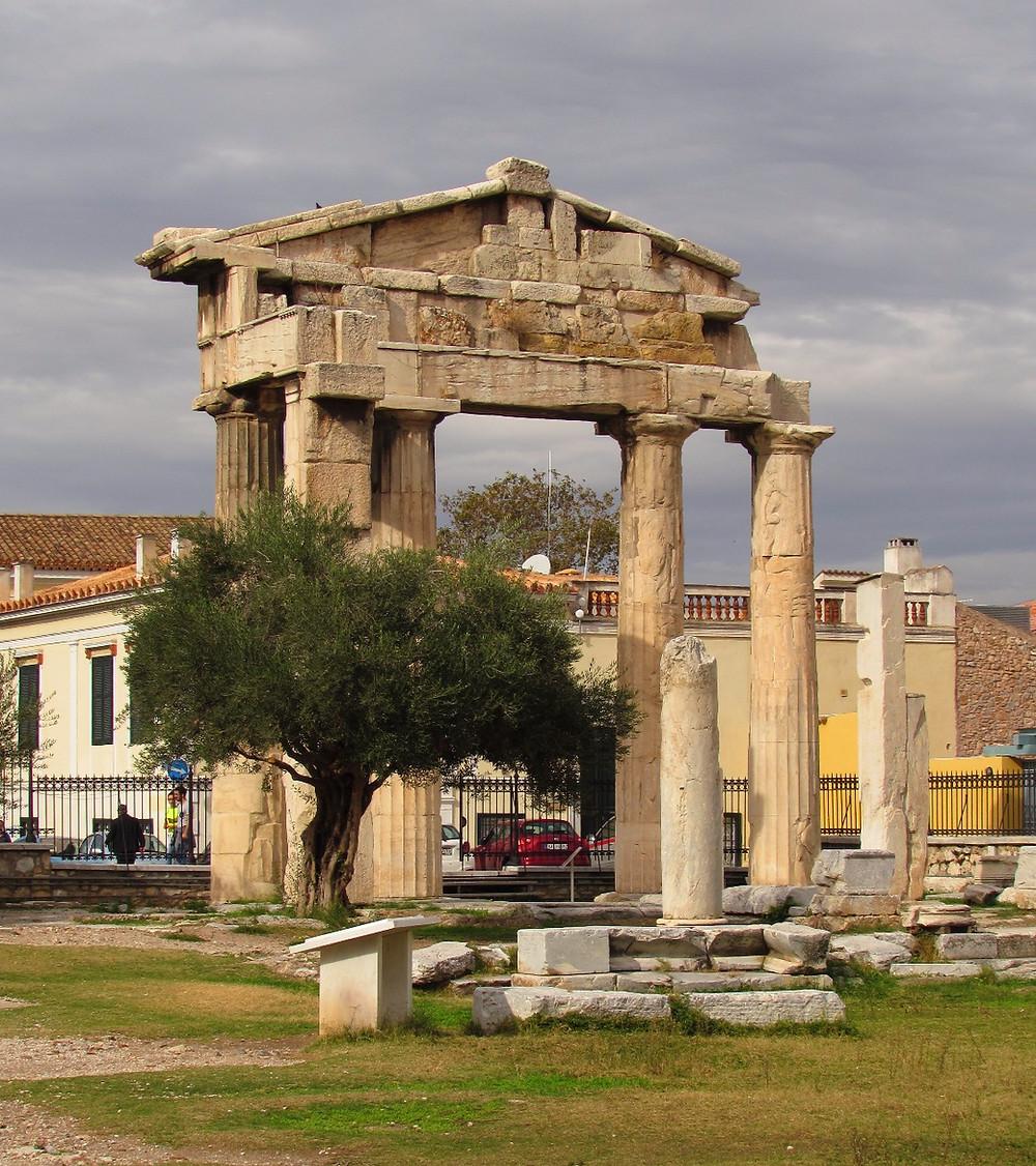Входные ворота Афины Архегетис