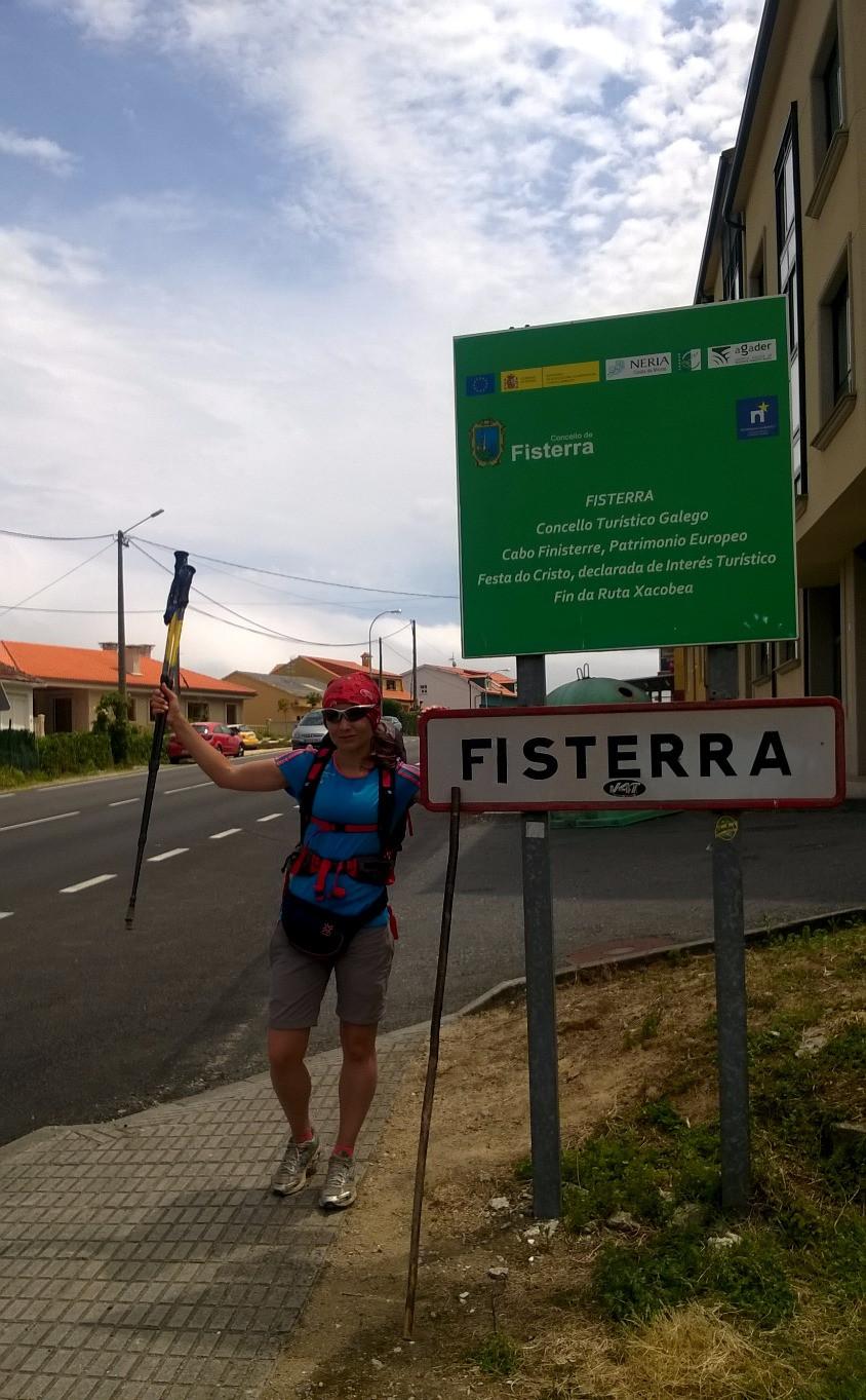 Въезд в Финистерру