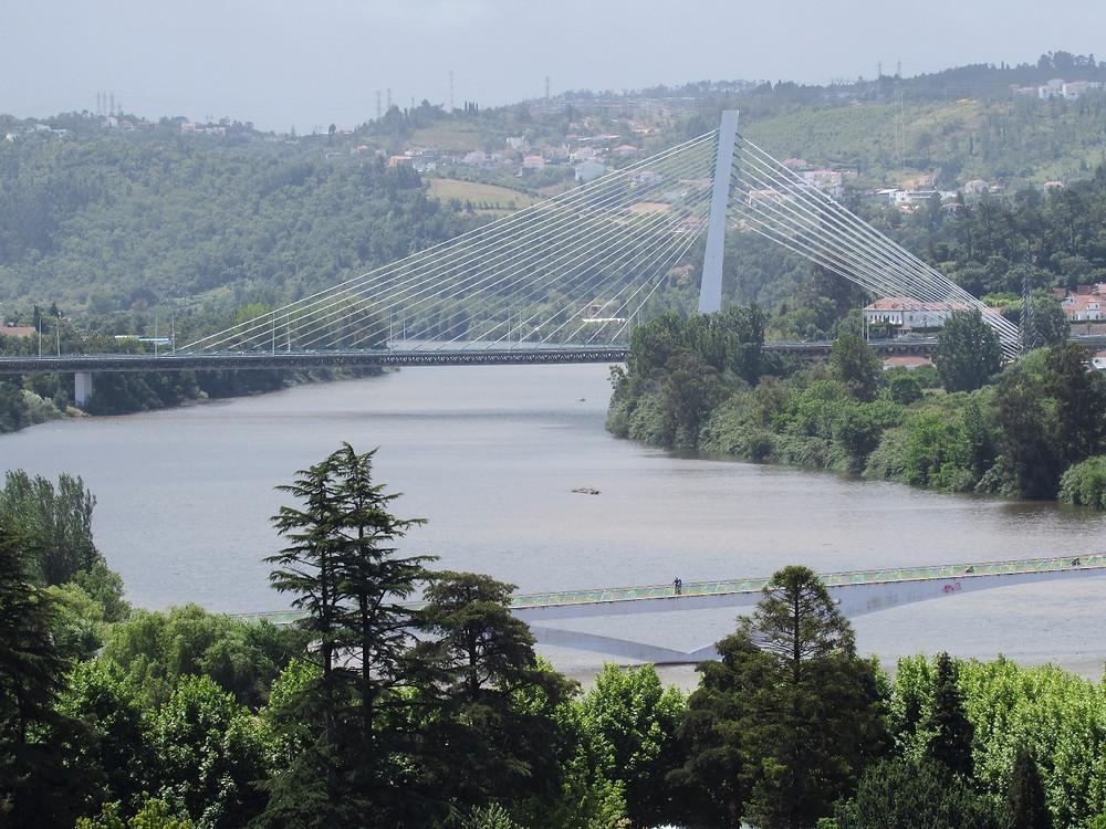 Вид на реку Мондегу