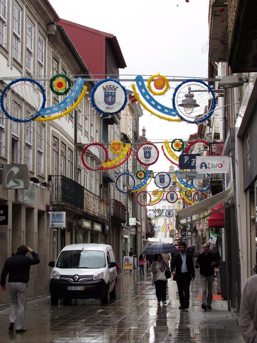 Улицы Браги