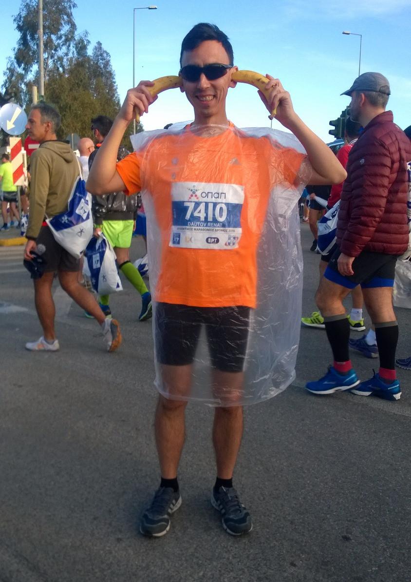 Как одеться на марафон