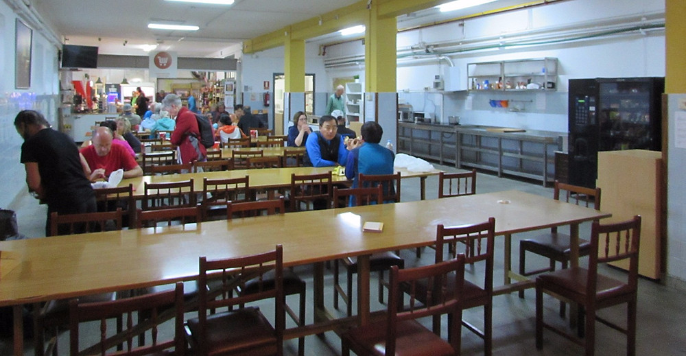 Кафе в альберге Семинарио Менор