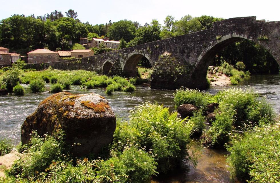 Camino Primitivo, день 11: Santiago de Compostela - Negreira
