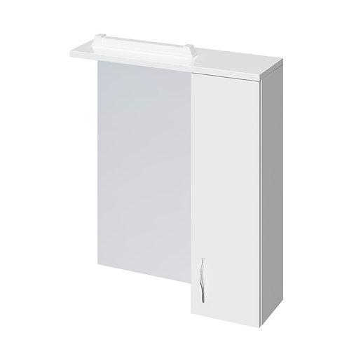 Зеркало-шкафчик ERICA NEW 60 белый