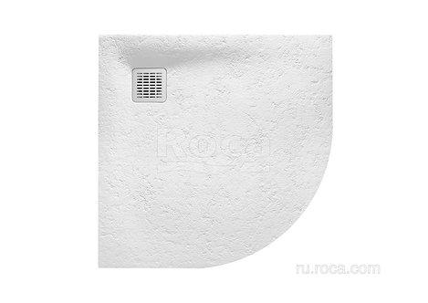 Душевой поддон Roca Terran 900X900 Blanco 1/4 кр